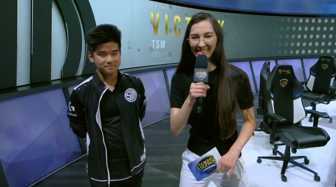 TSM Spica makes his LCS debut in a win over FlyQuest | Dot Esports
