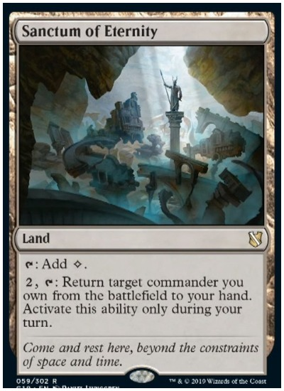 Sanctum of Eternity Commander 2019 MTG