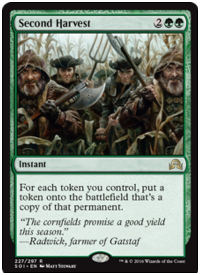 Second Harvest MTG Commander 2019