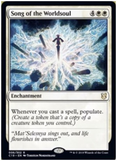 Song of the Worldsoul MTG Commander 2019