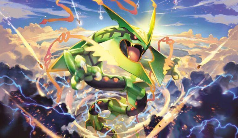 Rayquaza Pokemon joins Battle Arena Decks