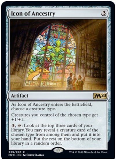 Icon of Ancestry M20 Magic The Gathering