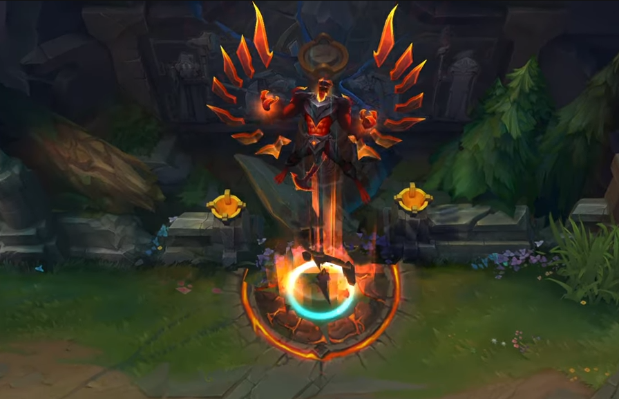Riot reveals PBE previews of new Elderwood, Infernal skins