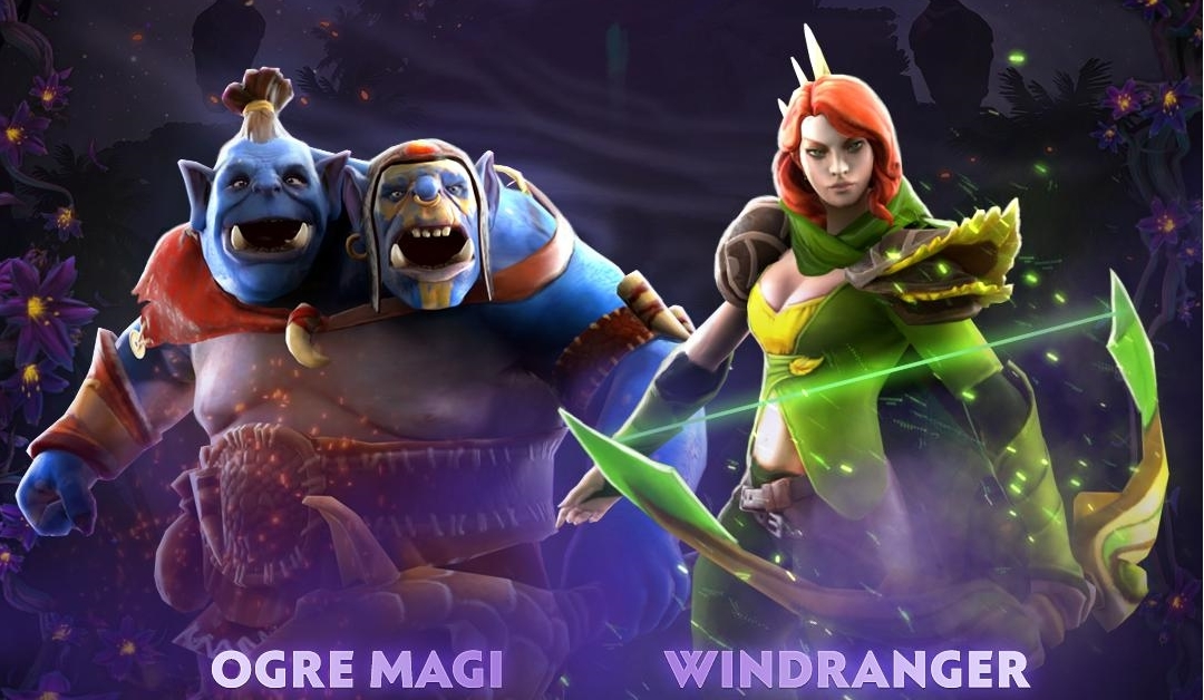 Kết quả hình ảnh cho Ogre Magi & Windranger