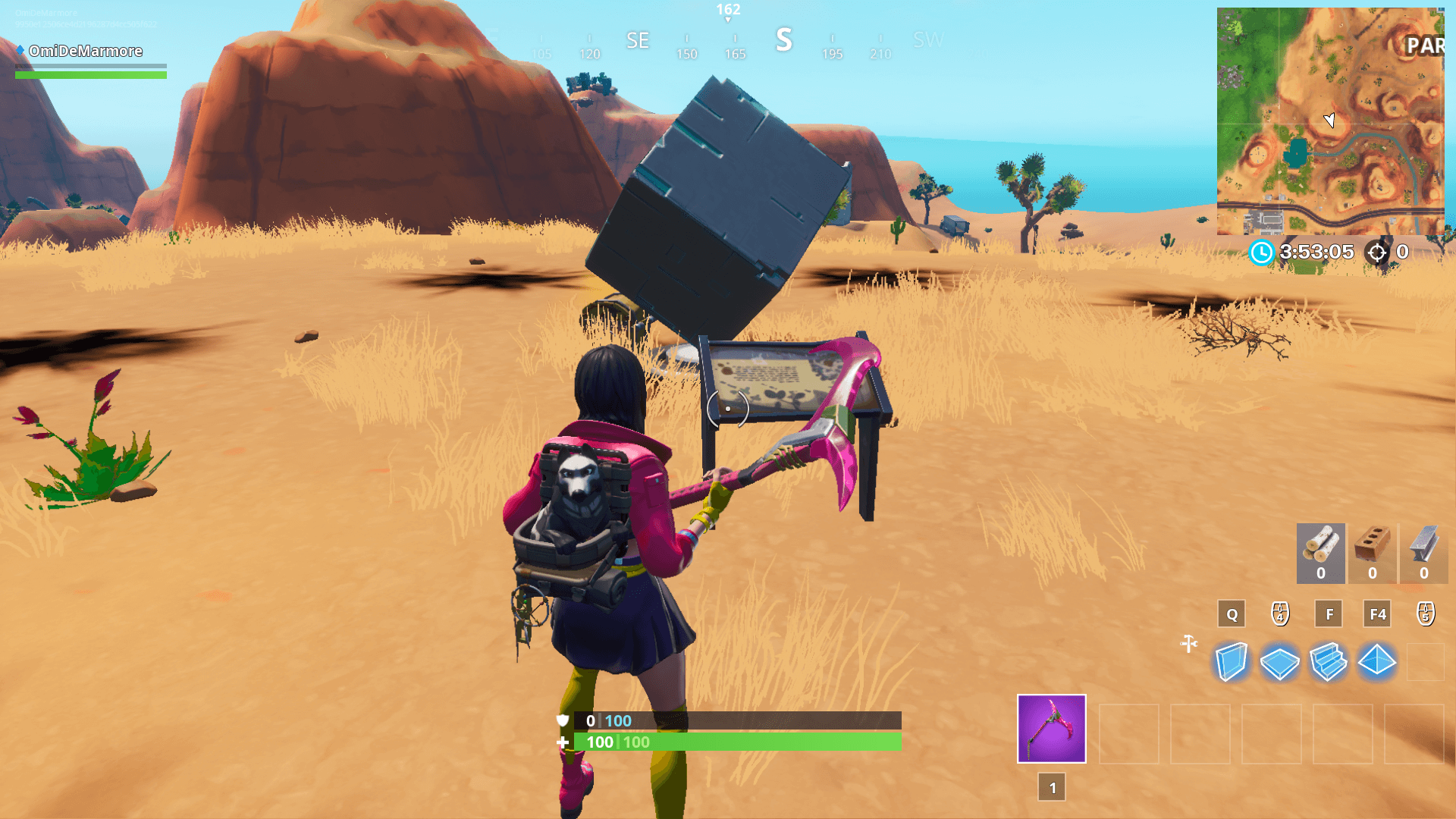 Fortnite Cube Memorial Locations In The Desert And Lake