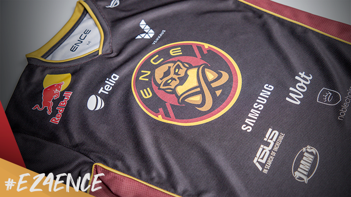 ENCE team jersey