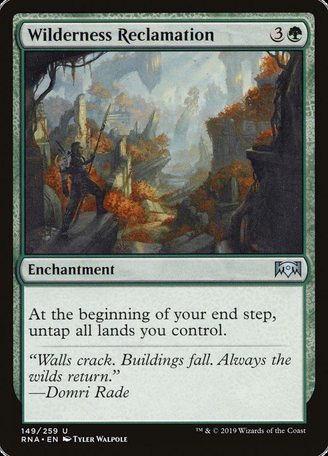 Wilderness Reclamation Magic Ravnica Allegiance