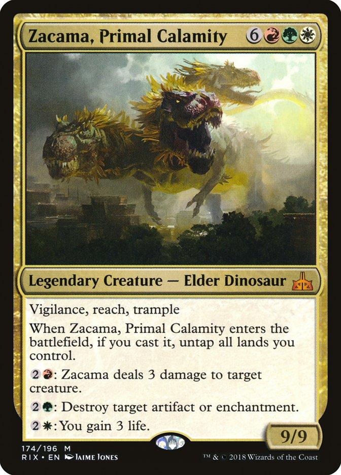Zacama Primal Calamity Magic