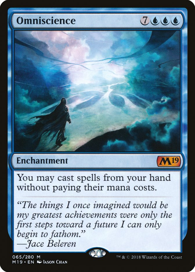 Omniscience Magic Core Set 2019