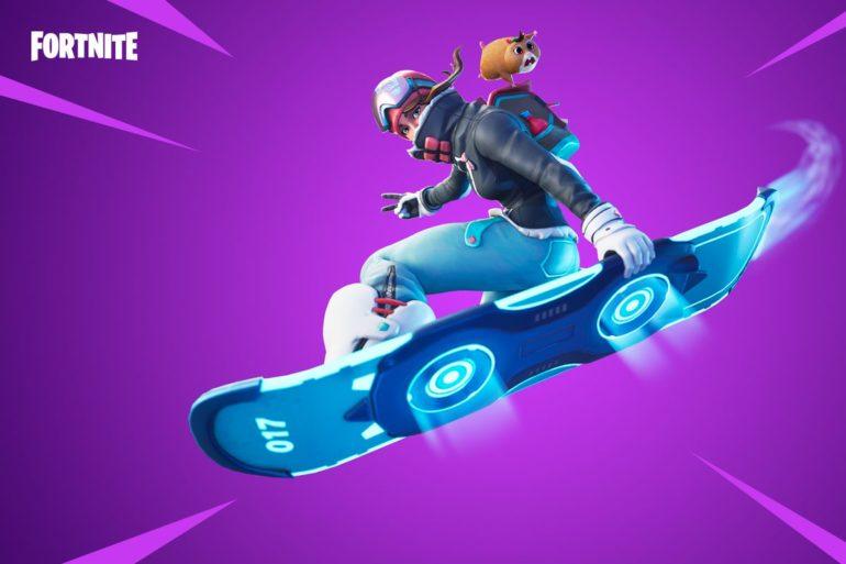 Fortnite hoverboard