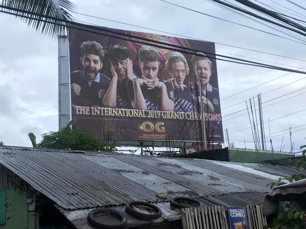 OG billboard in the Philippines