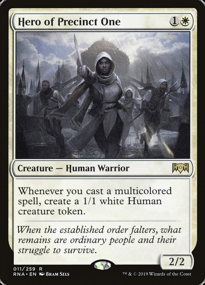 Hero of Precinct One Magic Ravnica Allegiance
