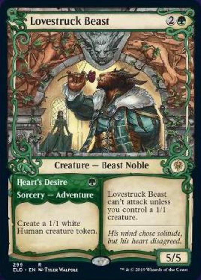 Lovestruck Beast Spoiler Magic Throne of Eldraine