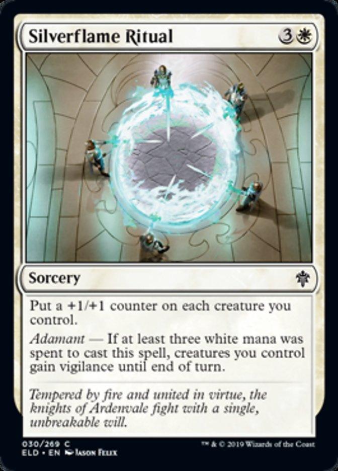 Silverflame Ritual Spoiler Magic Throne of Eldraine