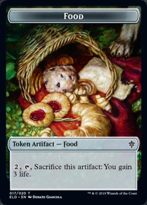 Food Token Magic Throne of Eldraine