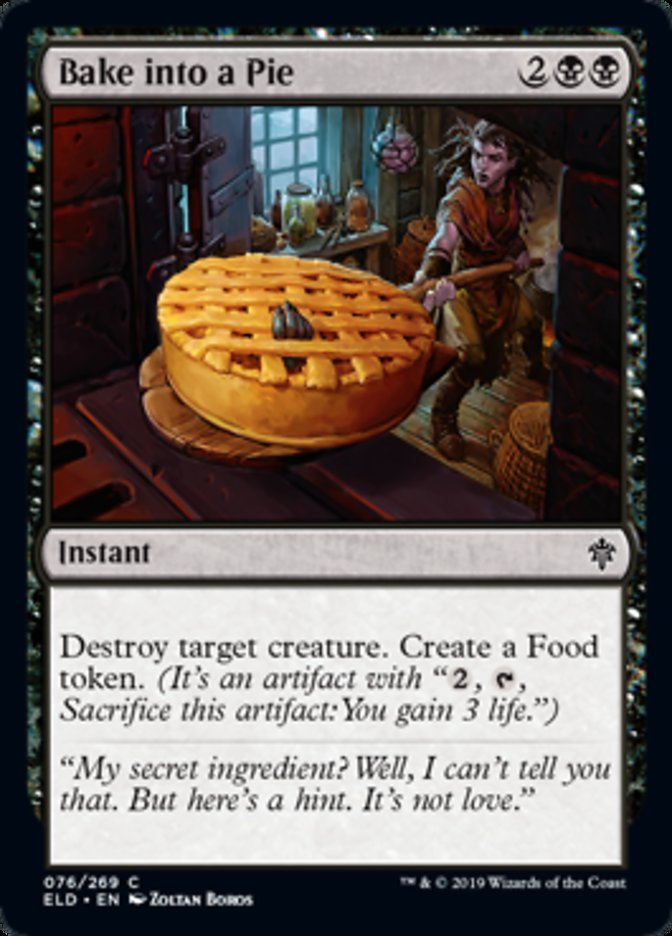 Bake into a Pie Spoiler Magic Throne of Eldraine
