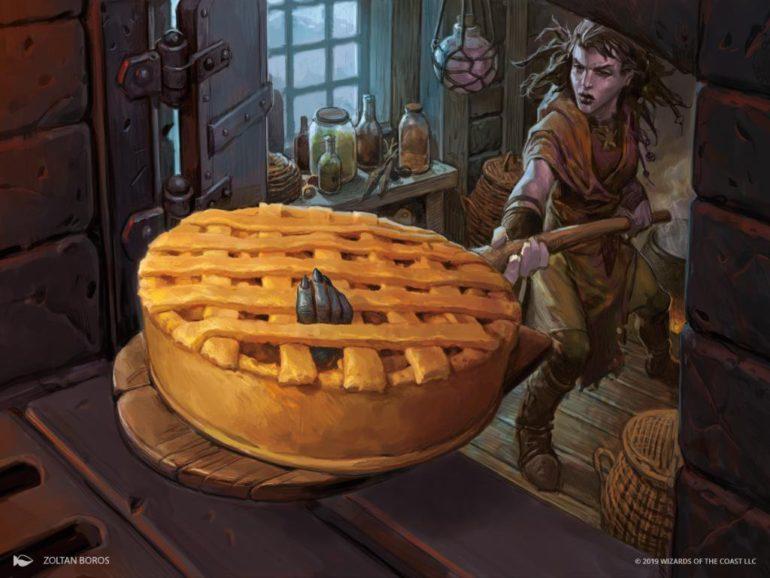 Bake into a Pie Art Magic Throne of Eldraine