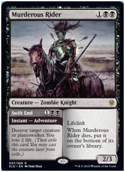 Murderous Rider MTG Throne of Eldraine