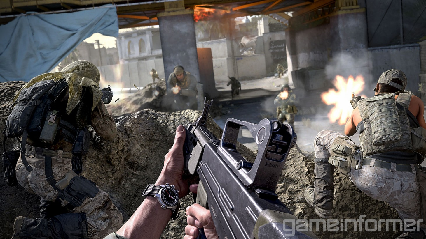 You can pre-load Call of Duty: Modern Warfare's PS4 beta