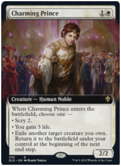 Charming Prince MTG Throne of Eldraine