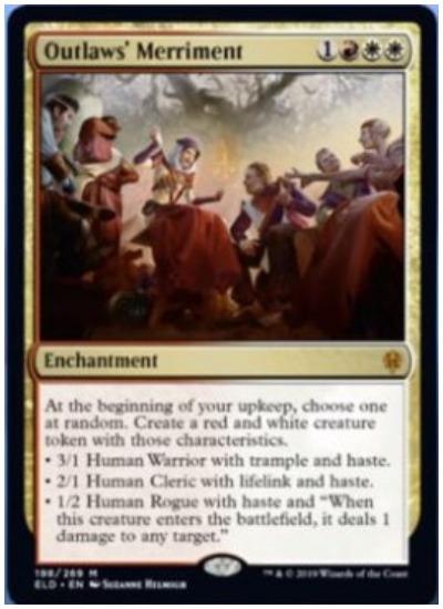 Outlaws' Merriment MTG Throne of Eldraine