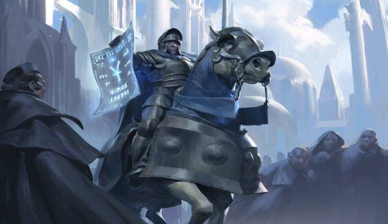 Blue Knight in ELD Cycle