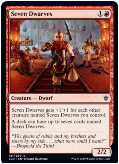 Seven Dwarves ELD