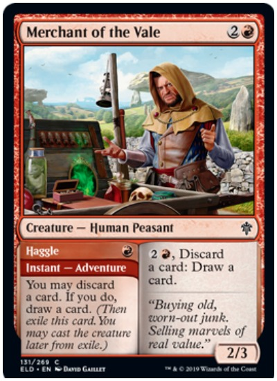 Merchant of the Vale, MTG Throne of Eldraine