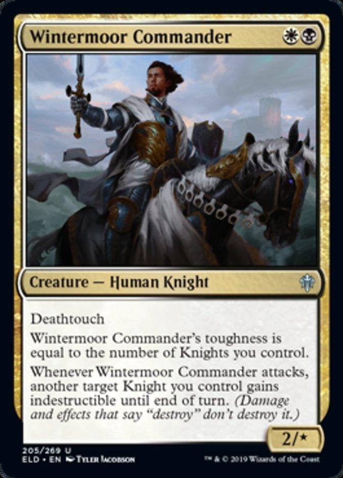 Wintermoor Commander Spoiler Magic Throne of Eldraine