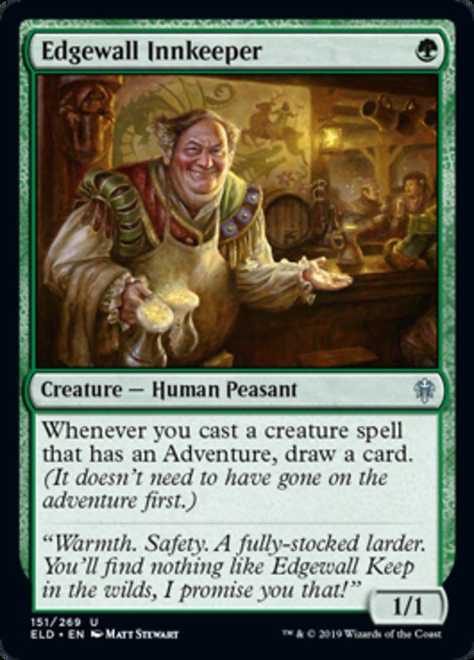Edgewall Innkeeper Spoiler Magic Throne of Eldraine
