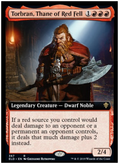 Torbran, Thane of Red Fell ELD