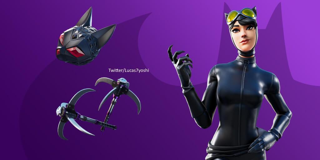 Catwoman Skin Found In Fortnite Files Dot Esports