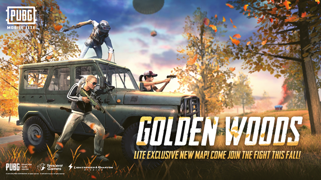 Golden Woods PUBG Mobile Lite