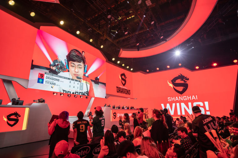 Shanghai Dragons wins