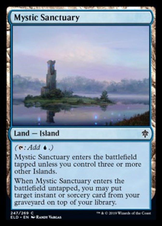 Mystic Sanctuary Magic Throne of Eldraine