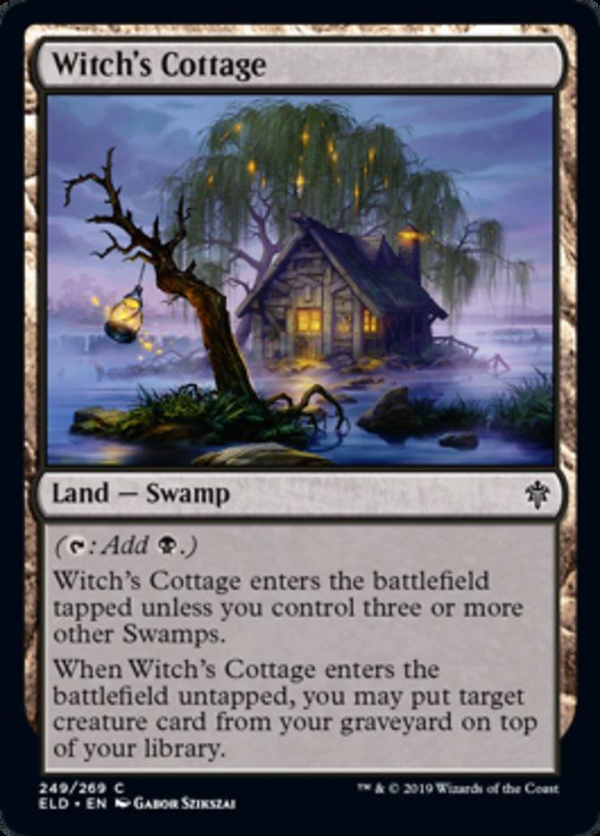 Witch's Cottage Magic Throne of Eldraine