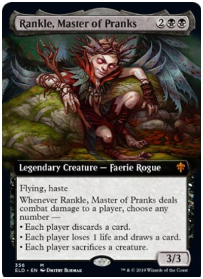 Rankle, Master of Pranks ELD
