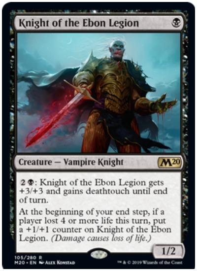 Knight of Ebon Legion M20