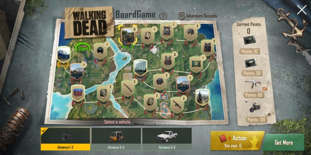 The Walking Dead Board
