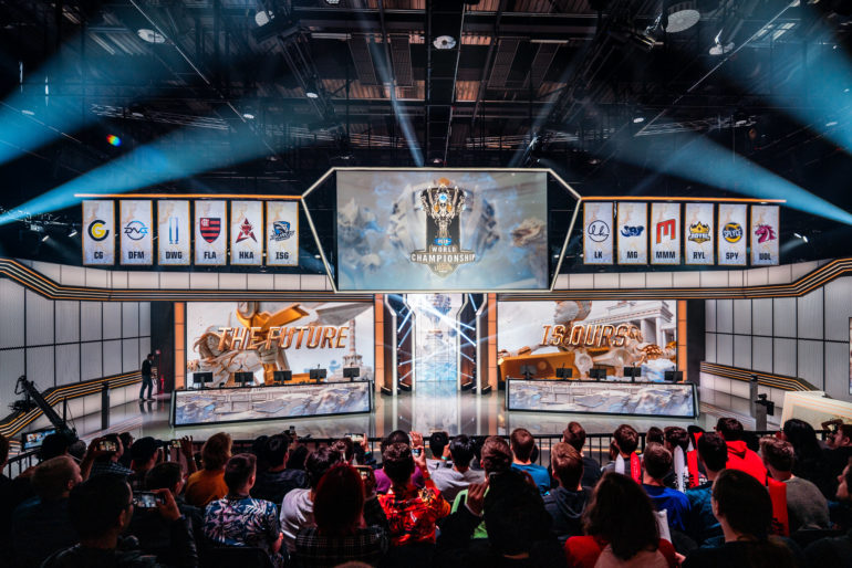 Worlds 2019 play-in stage