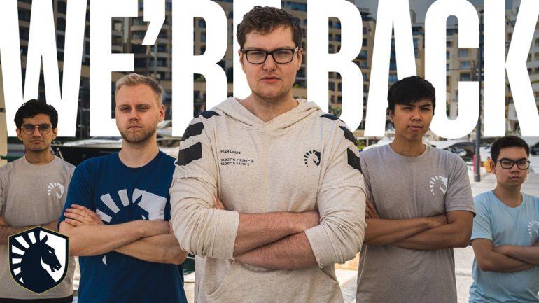 dota 2 team liquid new roster