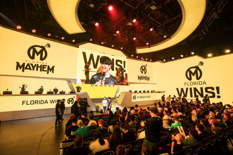 Florida Mayhem wins