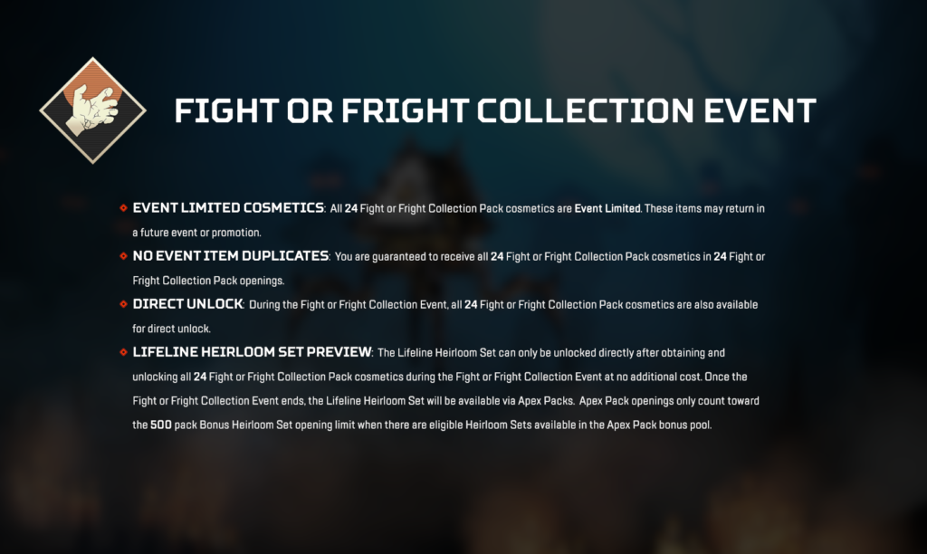 Fight or Fright event