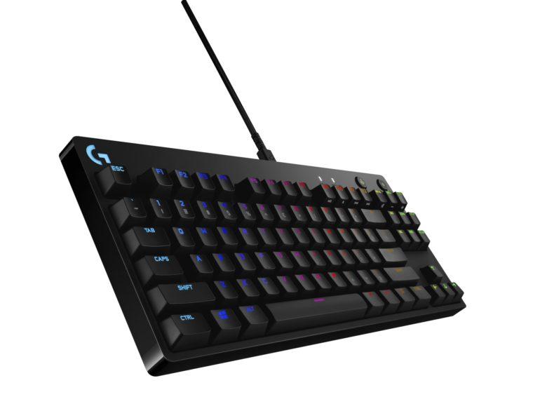 Logitech G Pro X keyboard angle-min