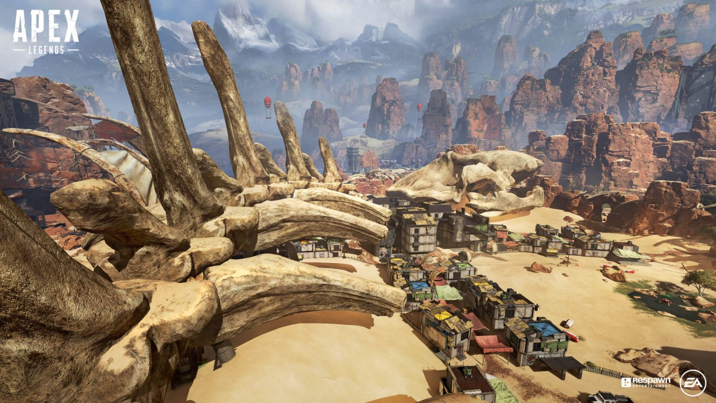Kings Canyon makes a brief return to Apex Legends tomorrow