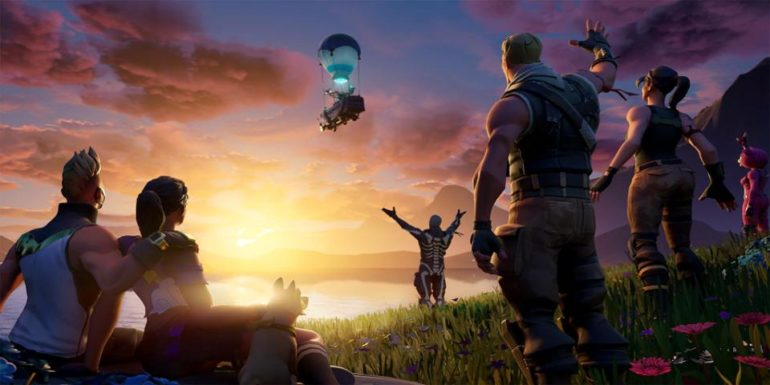 The end loading screen