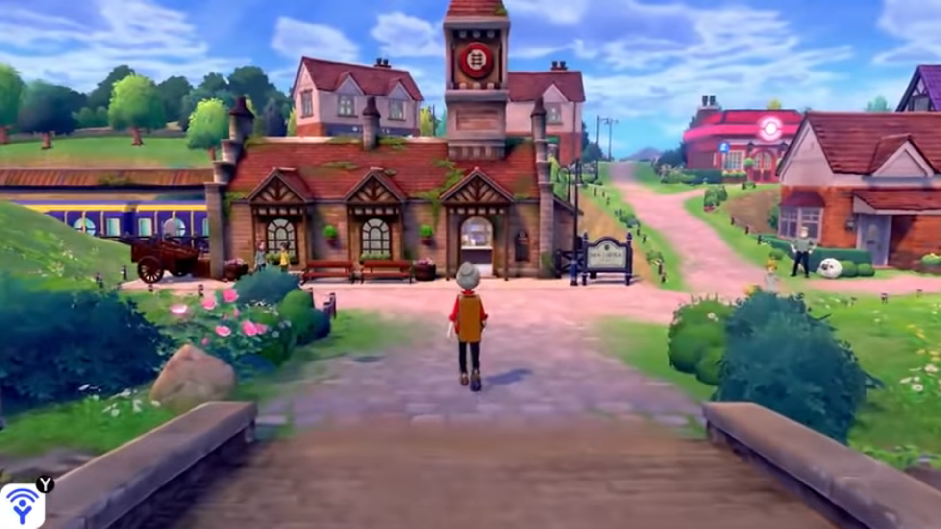 Where is Pokemon Sword and Shield's Wild Area?