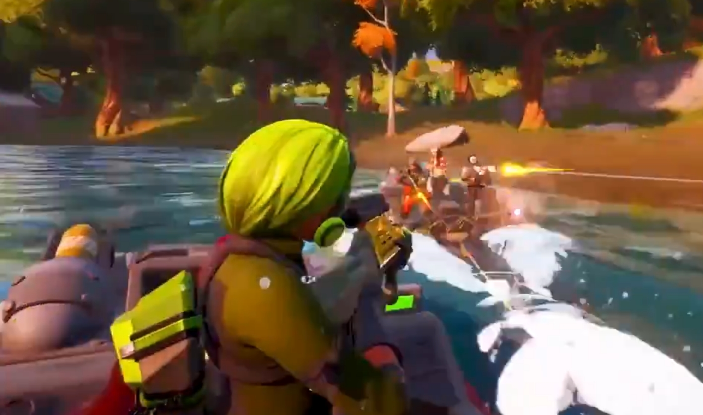 Fortnite Chapter 2 Season One Could Feature Boats As New