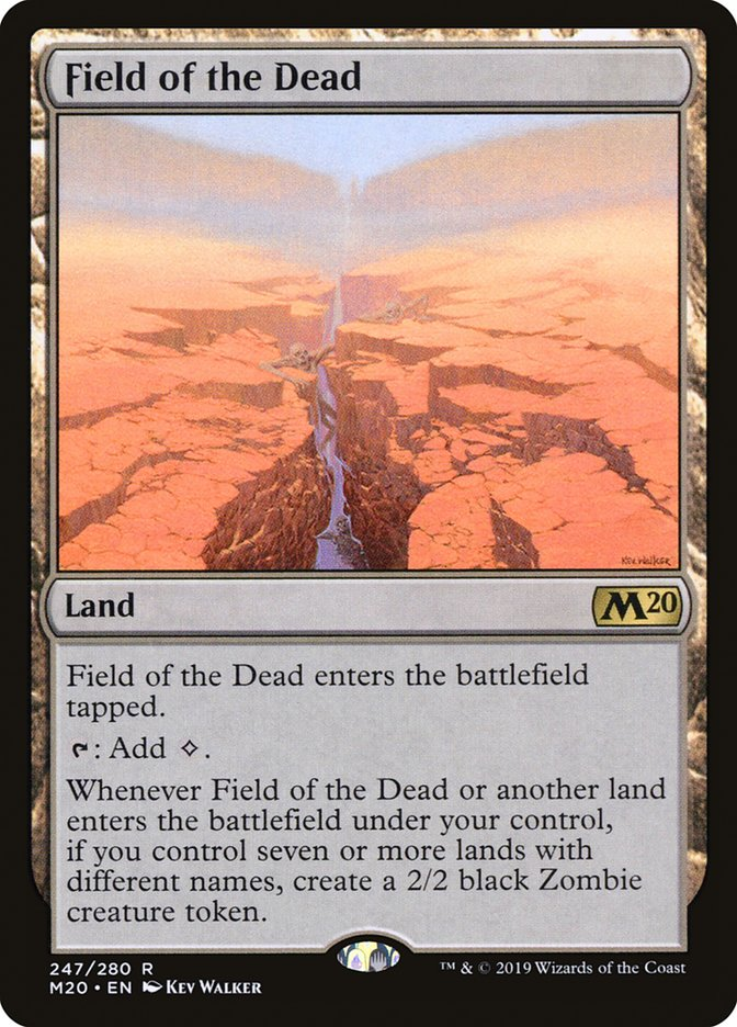 Field of the Dead Magic Core Set 2020