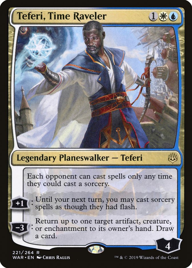 Teferi Time Raveler Magic War of the Spark